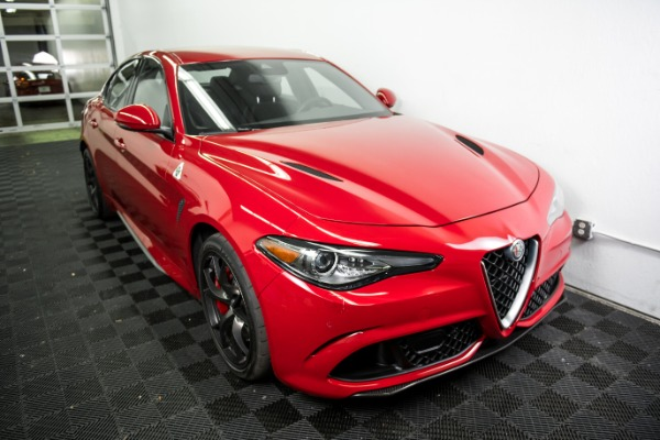 Used 2018 Alfa Romeo Giulia Quadrifoglio Used 2018 Alfa Romeo Giulia Quadrifoglio for sale Sold at Response Motors in Mountain View CA 3