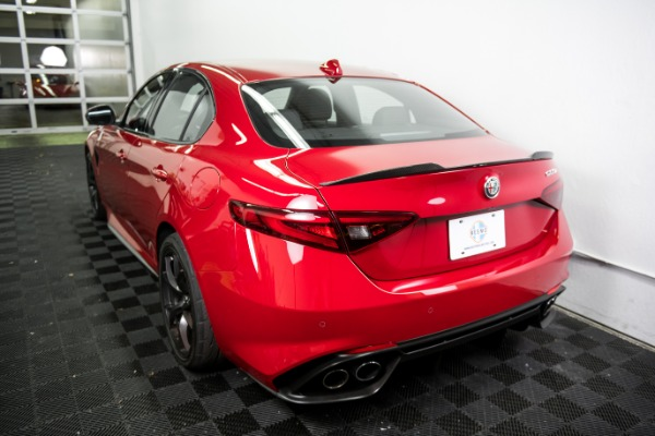 Used 2018 Alfa Romeo Giulia Quadrifoglio Used 2018 Alfa Romeo Giulia Quadrifoglio for sale Sold at Response Motors in Mountain View CA 7