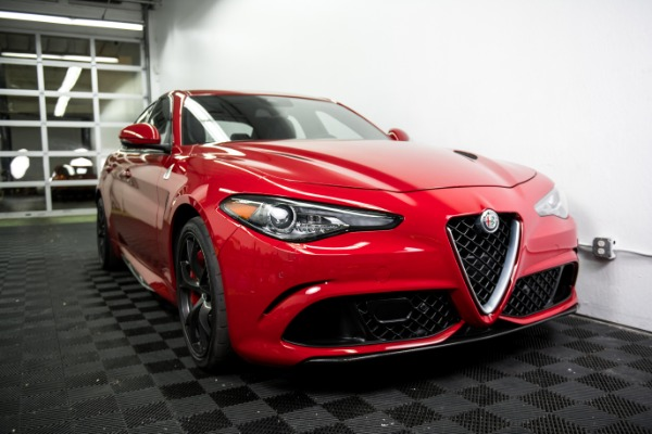 Used 2018 Alfa Romeo Giulia Quadrifoglio Used 2018 Alfa Romeo Giulia Quadrifoglio for sale Sold at Response Motors in Mountain View CA 1