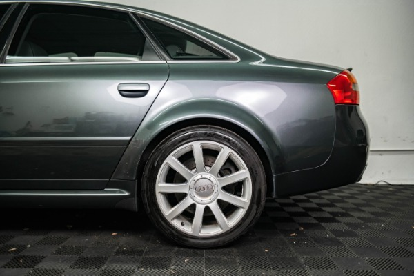 Used 2003 Audi RS 6 quattro Used 2003 Audi RS 6 quattro for sale Sold at Response Motors in Mountain View CA 8