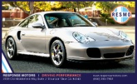 Used 2001 Porsche 911 Turbo Used 2001 Porsche 911 Turbo for sale $48,599 at Response Motors in Mountain View CA 2