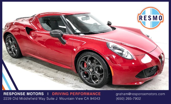 Used 2015 Alfa Romeo 4C Launch Edition Used 2015 Alfa Romeo 4C Launch Edition for sale $52,000 at Response Motors in Mountain View CA 2