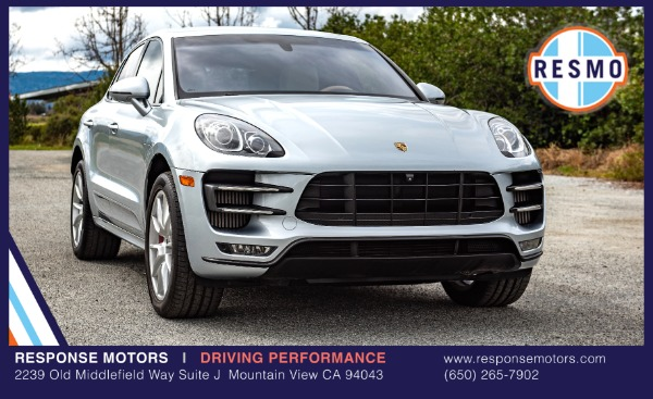 Used 2016 Porsche Macan Turbo Used 2016 Porsche Macan Turbo for sale $52,499 at Response Motors in Mountain View CA 2