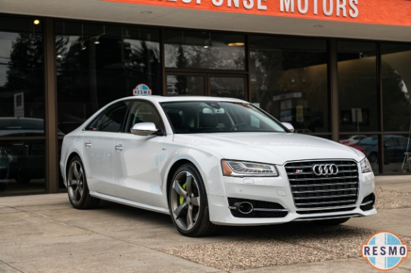 Used 2015 Audi S8 4.0T quattro for sale $54,999 at Response Motors in Mountain View CA