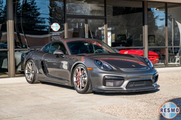 Used 2016 Porsche Cayman GT4 for sale $91,599 at Response Motors in Mountain View CA