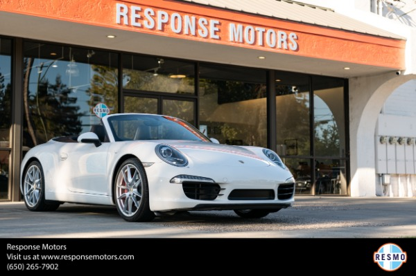 Used 2012 Porsche 911 Carrera S for sale $62,599 at Response Motors in Mountain View CA