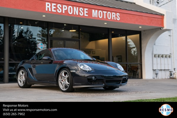 Used 2006 Porsche Cayman S for sale $38,999 at Response Motors in Mountain View CA