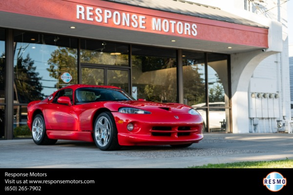 Used 2001 Dodge Viper GTS for sale $112,000 at Response Motors in Mountain View CA
